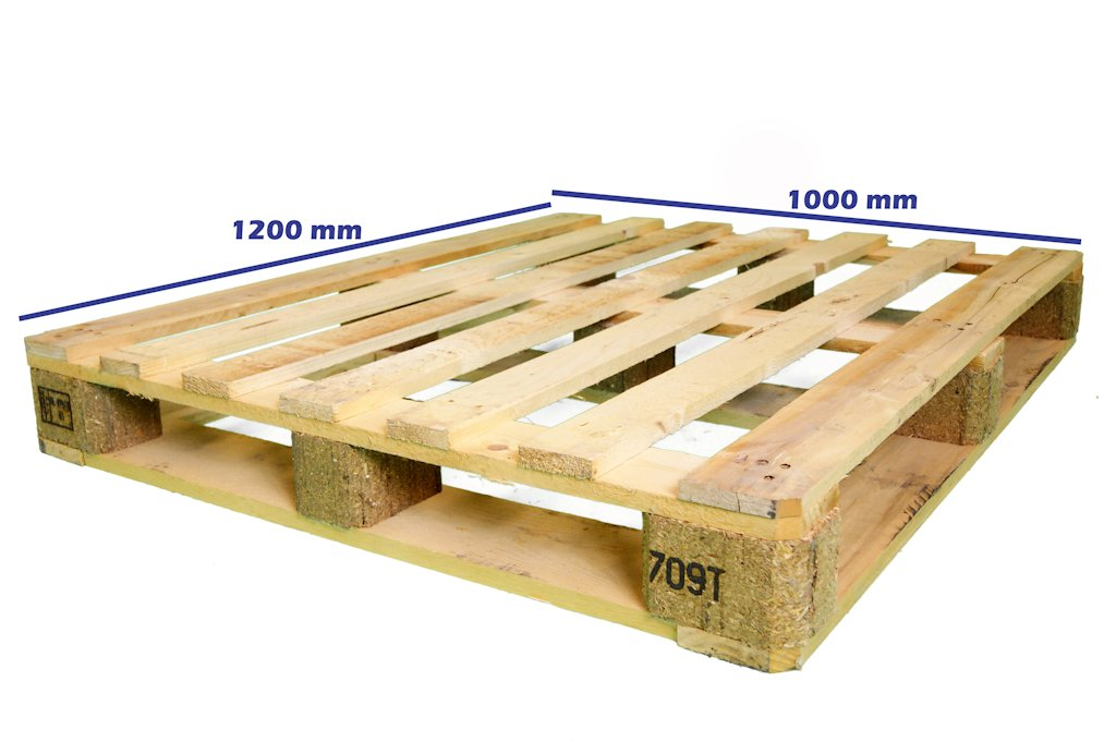 Palets exportaci n nimf 15 palet 1200 x 1000 fuerte - Cuanto vale un palet ...