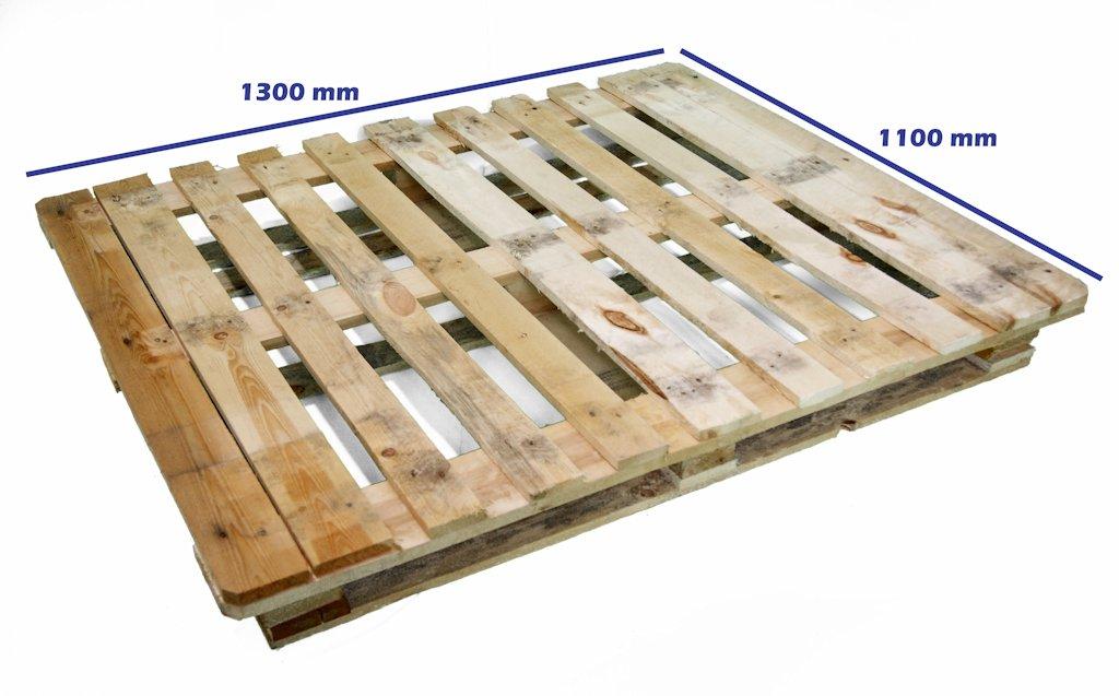 Palets cp industria qu mica palet cp7 1300 x 1100 reciclado - Cuanto cuesta un palet de madera ...